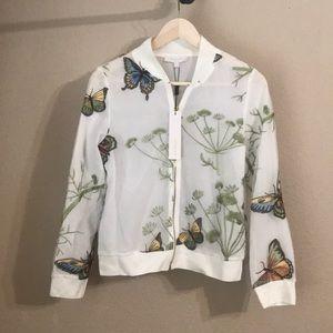 NWT Beulah butterflies 🦋 bomber jacket coat